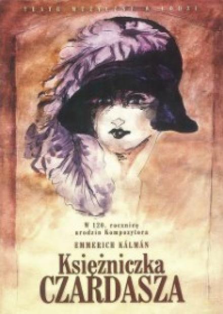 Księżniczka Czardasza plakat